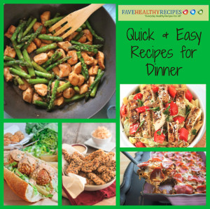 10 healthy easy fast dinner recipes for under 3 healthy easy fast dinner recipes forumfinder Image collections