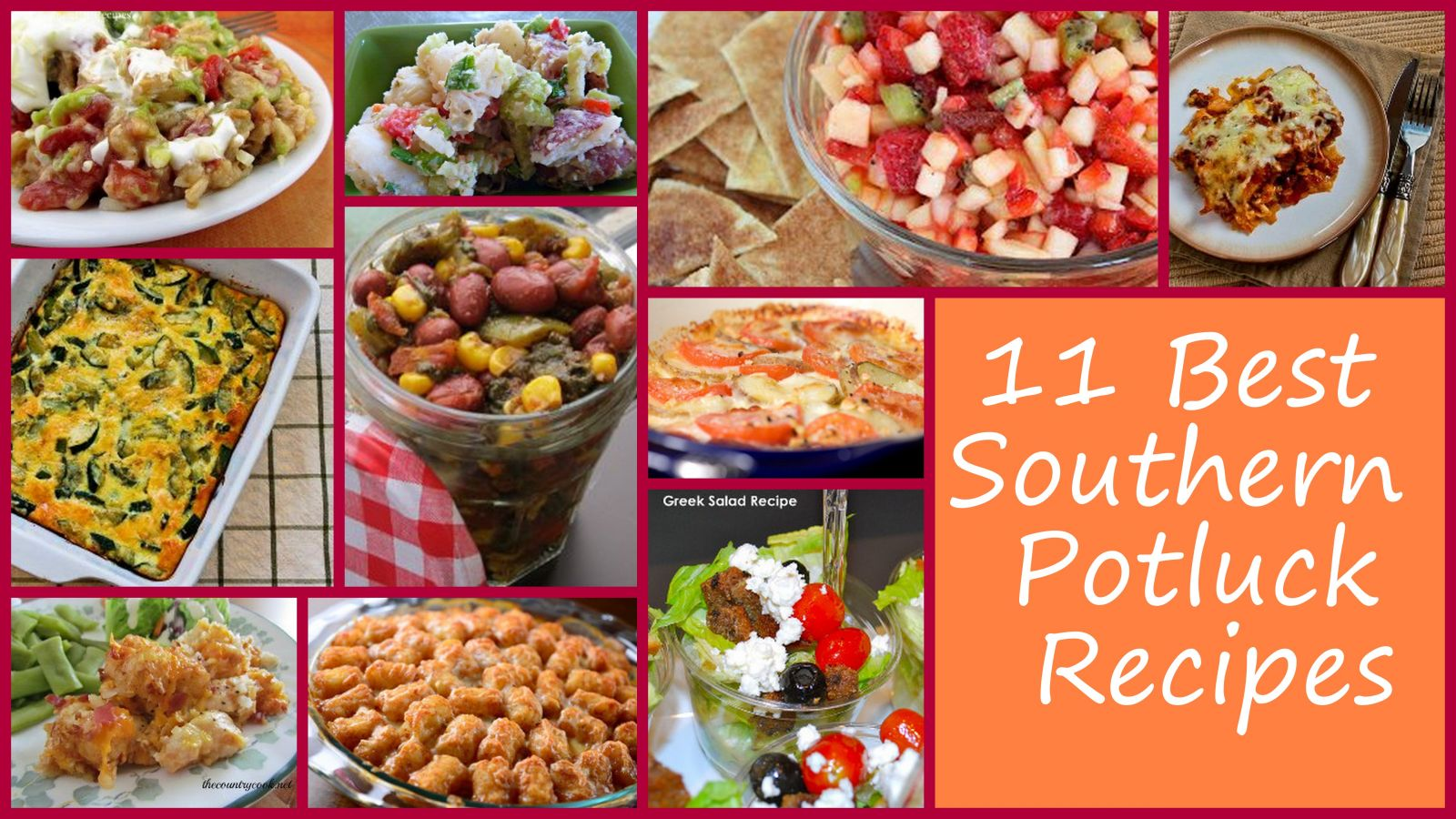 11 best southern potluck recipes | favehealthyrecipes