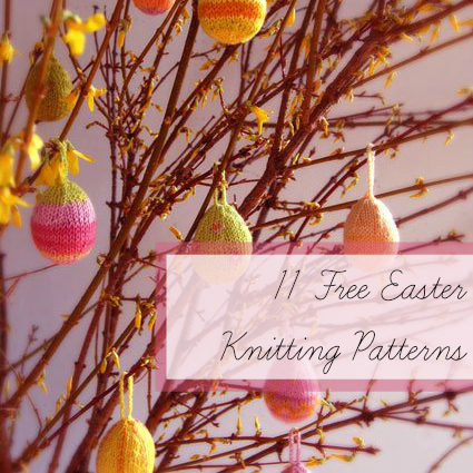 11 Free Easter Knitting Patterns Allfreeknitting