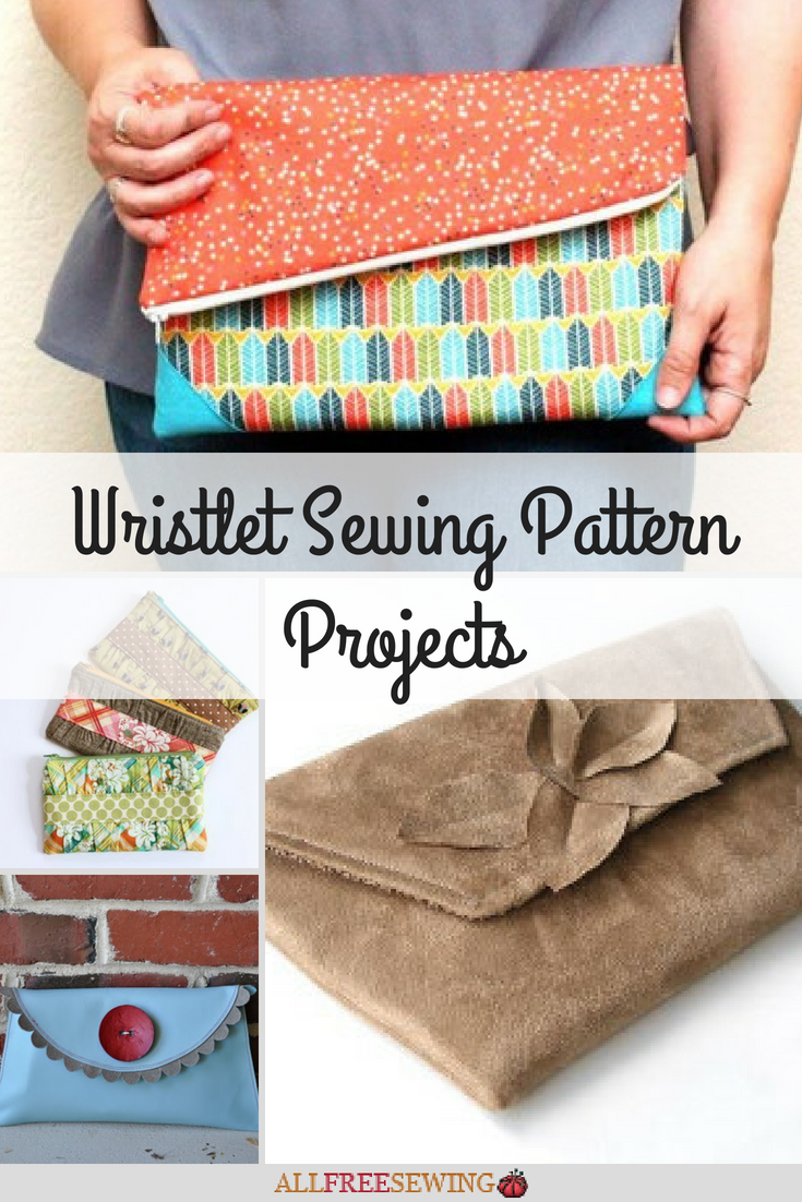 b5e1d30ded26 12 Wristlet Sewing Pattern Projects