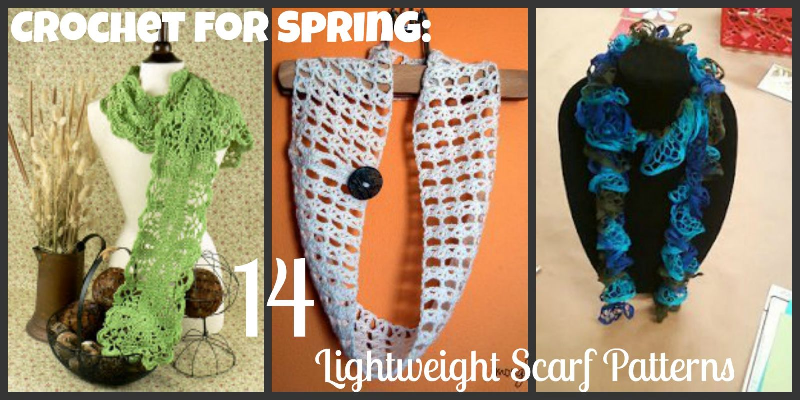 Spring Crochet Projects: Butterflies, Crochet Flowers, and More ...