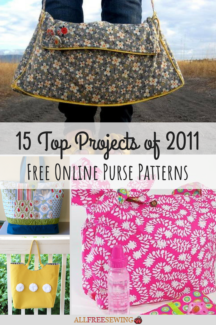 15 Top Projects of 2011: Free Online Purse Patterns