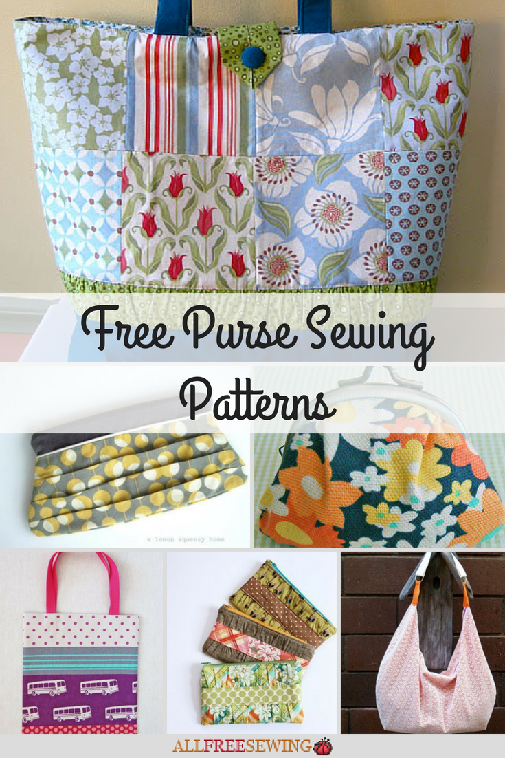 20 Free Purse Sewing Patterns