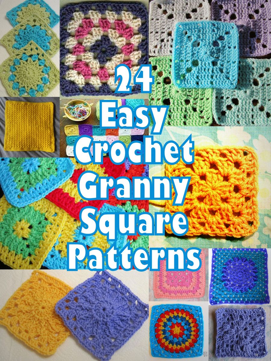 Basic Crochet Pattern For Granny Square : Basic Crochet Stitches Guide ...