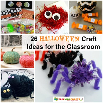 26 halloween craft ideas for the classroom - Halloween Crafts For The Classroom