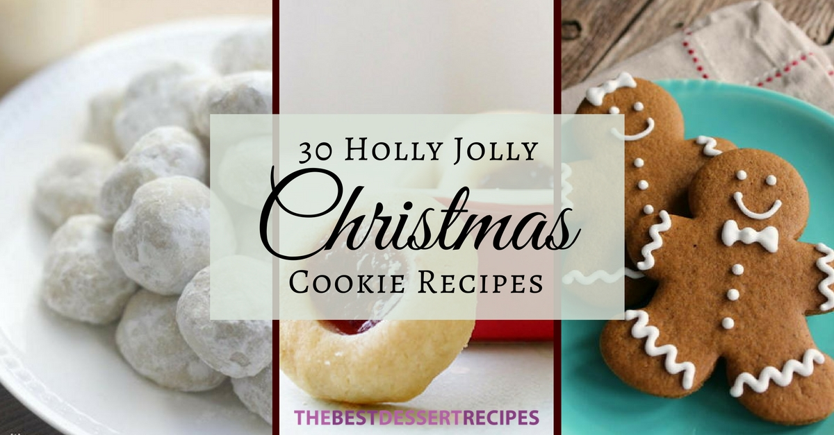 30 Holly Holly Christmas Cookie Recipes