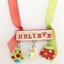 Holiday Believe Necklace