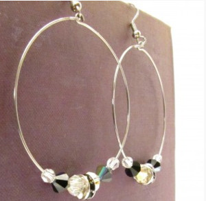 How to Make Classic Beaded Hoop Earrings