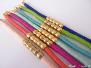 Color Pop Hardware Store Bracelets