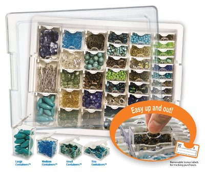 Assorted Bead Storage Tray