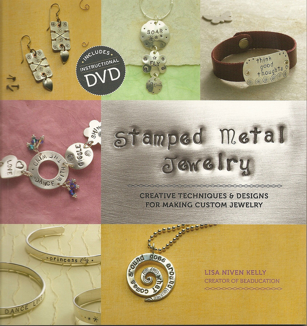 Stamped Metal Jewelry by Lisa Niven