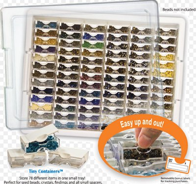 Tiny Container Bead Storage Tray From Bead Storage