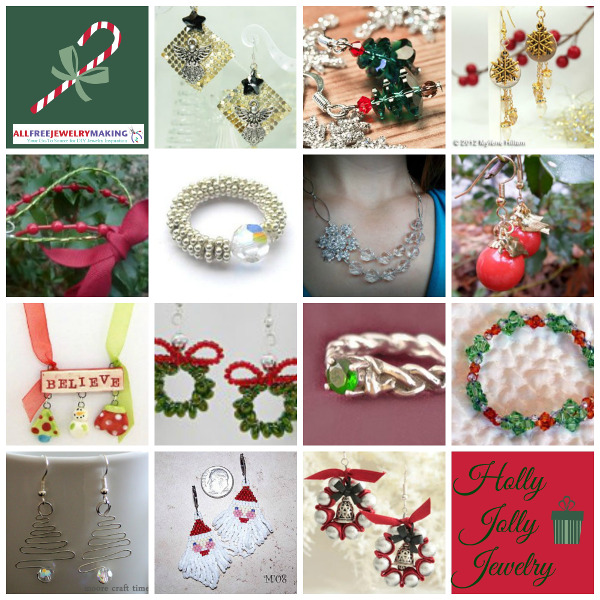 83 Holly Jolly Jewelry Patterns for Christmas
