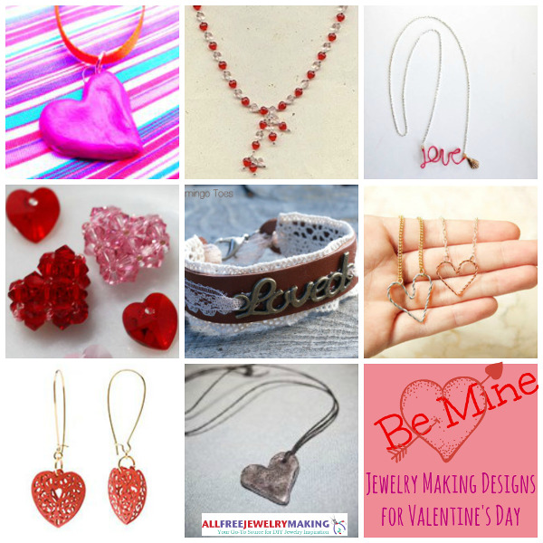 20 Jewelry Making Designs for Valentine's Day