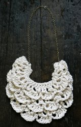 Ruffled Bib Necklace