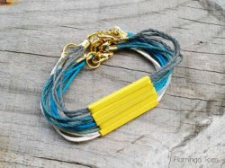 Stacked Ombre Cord Bracelets