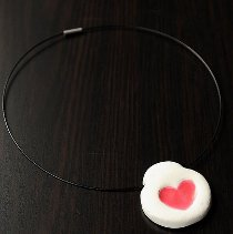Thumbprint Heart Necklace