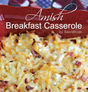 Amish-Style Breakfast Casserole