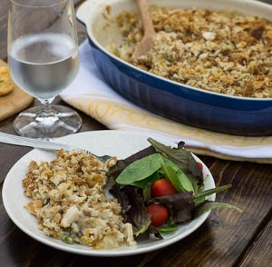 Chicken 'N Stuffing Casserole