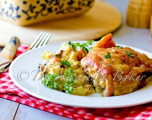 Chicken with Creamy Rice