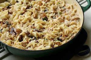 Grown-Up Tuna Noodle Casserole | AllFreeCasseroleRecipes.com