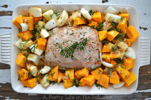 Roasted Pork Casserole