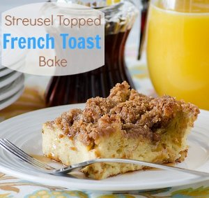 Streusel Topped French Toast