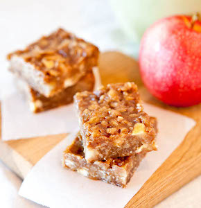Sweet Caramel Apple Bars