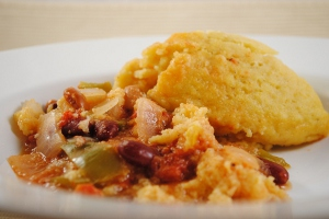 Comforting Bean and Corn Casserole