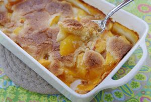 Brandied Georgia Peach Cobbler
