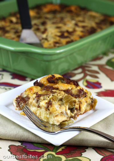 Overnight Sausage and Egg Casserole Recipes
