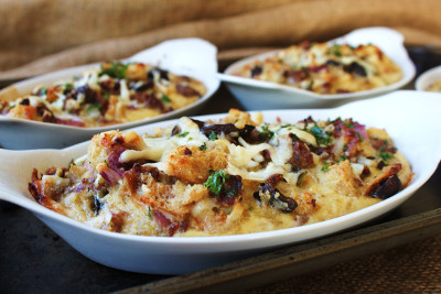 Sausage and Mushroom Strata Casserole Recipes