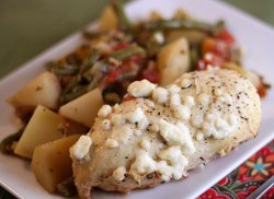 Easy Greek Chicken Casserole | AllFreeCasseroleRecipes.com