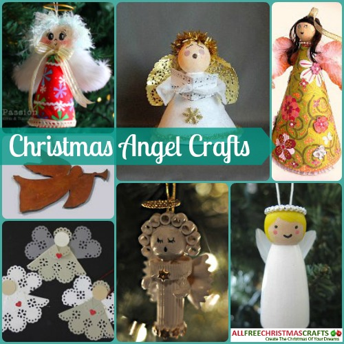 13 Christmas Angel Crafts