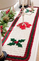 Holly Table Runner Pattern
