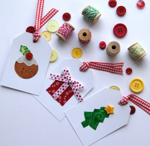 Cheery Christmas Gift Tags