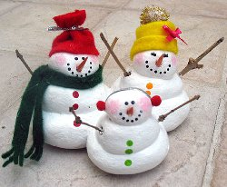 37 Fun Snowman Christmas Crafts