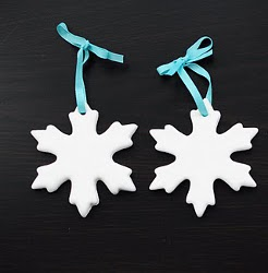 Snowflake Christmas Tree Ornaments