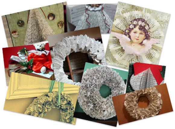 14 Book Craft Ideas For Christmas Allfreechristmascrafts Com
