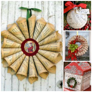Inspired by your favorite christmas music 37 christmas for All free holiday crafts