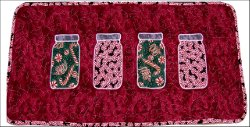 Christmas Candy Jar Table Runner