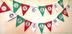 Easy Paper Christmas Bunting