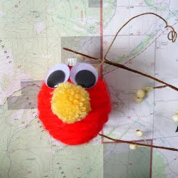 Elmo Ornament