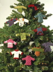Miniature Sweater Ornaments