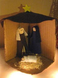 Clothespin Nativity