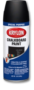 Black Chalkboard Paint