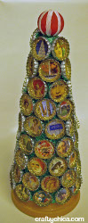 Bottle Cap Picture Tree