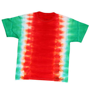 Holiday Colors Tie-Dye Tee