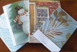 Christmas Card Note Pads Tutorial