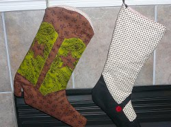 Cowboy Boot Stocking